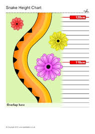 Sparklebox Height Chart Free Printable Child Height Charts Sparklebox