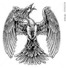 火の鳥のイラスト素材 Pixta