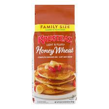 Wheat Light Battery Replacement Krusteaz Light Fluffy Honey Wheat Complete Pancake Mix 56