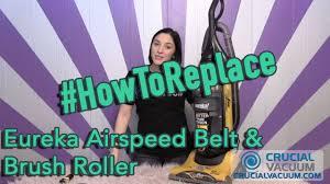 Eureka Airspeed Belt & <b>Brush Roller Replacement</b>: Part # 63391-4 ...