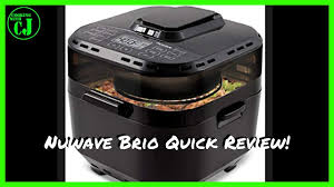 Nuwave Chart Nuwave Brio 10 Quart Air Fryer Quick Review And First Cook