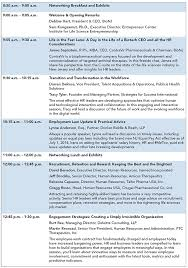 Conference Agenda Extraordinary BioNJ's 48th Annual HR Conference BioNJ