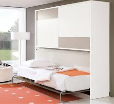 Single Murphy Wall Bed White