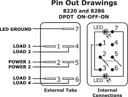 any one have 7 pin rocker switch wiring diagram? page 1 iboats 6 pin switch wiring diagram at 6 Pin Switch Wiring Diagram