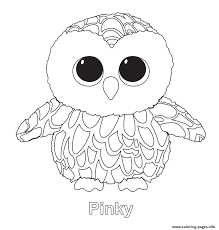 Coloring Pages 44 Beanie Boo Coloring Pages Picture Inspirations