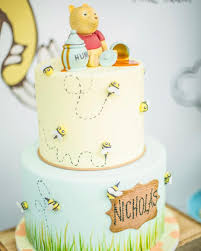 Classic Winnie The Pooh Cake Designs Sometimes The Smallest Things Take Up The Most Room In Your