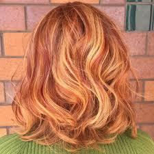 Strawberry Blonde Hair With Auburn Highlights