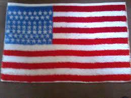 system american flag rug