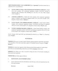 Free loan agreement template (pdf & word download). Free 35 Loan Agreement Forms In Pdf
