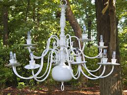 elegant solar powered outdoor chandelier good looking dscn