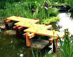 how to build a garden bridge small bridge design small garden bridge cedar plank garden bridge