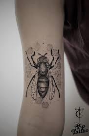 Tattoo Bee Bee Tattoo пчела пчела тату Dotwork дотворк