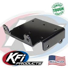 suzuki king quad 450 500 700 750 winch mount kfi atv winch 100450 suzuki king quad 450 500 700 750 winch mount