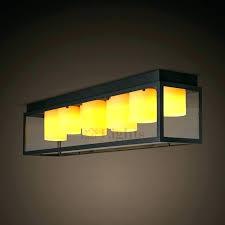 ceiling lights rectangular ceiling light fixtures retro industrial rectangle glass shade flush recessed rectan