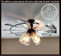 windmill ceiling fan with light. Interesting Windmill Ceiling Fan With Light Mason Jar WINDMILL Farmhouse Fixture The Lamp Goods I