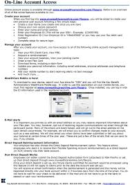 flexpro you will be asked to create your own personal user account following
