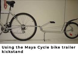 learn to use your bicycle trailer by