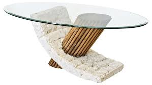 white stone coffee table with glass top stone coffee table for a nice living room