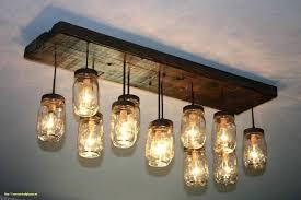 jar chandelier
