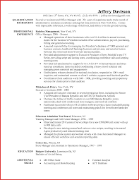 Executive Admin Resume For Study Image Examples Resume Sample