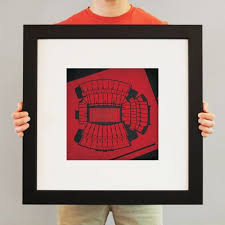 Darrell Royal Stadium Seating Chart Williams Brice Stadium College Football Prints From City