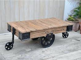coffee cart table industrial cart coffee table factory cart coffee table for coffee cart table
