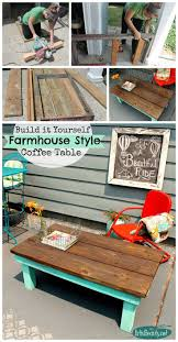 Style Coffee Table 17 Best Ideas About Farmhouse Coffee Tables On Pinterest