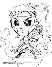 You can find so many unique, cute and complicated pictures for children of all ages as well as many g. X Men Coloring Pages Vanquish Studio