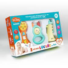 COMBO 3 Đồ Chơi Lúc Lắc cho Trẻ DK580011 – DUKA.VN