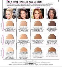 skin tone hair and makeup