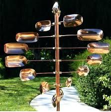 large garden wind spinners metal wind spinner copper kinetic twirler pin wheel mill yard garden sculpture large garden wind spinners