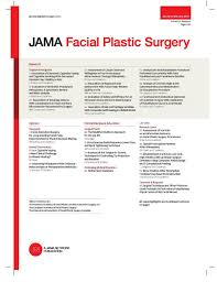 Jama Facial Plastic Surgery Wikipedia