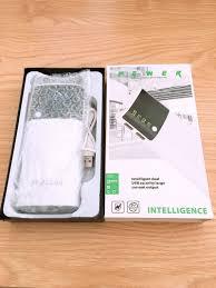 Pin sạc dự phòng Samsung 2 cổng Usb có đèn led báo phần trăm pin