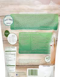 Splenda To Sugar Conversion Chart Splenda Naturals Sugar Stevia Blend Sweetener 1 Pound Bag