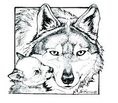 Printable Wolf Coloring Pages Kontaktimproorg