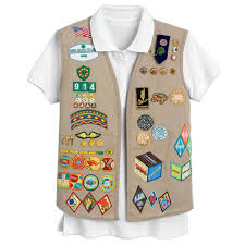 Official Cadette Senior And Ambassador Khaki Vest