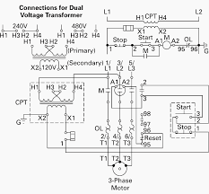 tranformer wiring diagram wire data \u2022 220v to 12v transformer wiring diagram wiring of control power transformer for motor control circuits eep rh electrical engineering portal com transformer wiring diagrams gas regulator