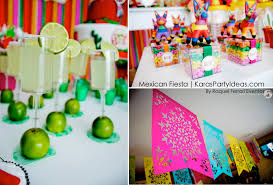 Korean Themed Party Decorations Karas Party Ideas Mexican Fiesta Themed Family Adult Birthday