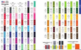 Offray Grosgrain Ribbon Color Chart Offray Grosgrain Ribbon Colours