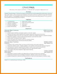 8 Computer Repair Resume Handyman Resume