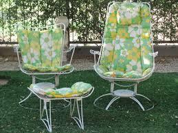 homecrest patio furniture cushions. vintage mid 60\u0027s homecrest riviera carousel chairs plus ottoman | ebay patio furniture cushions