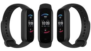<b>Amazfit Band 5</b> with blood oxygen measurement and Alexa virtual ...