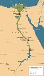 eternal life in ancient egypt Egypts Map map of egypt's nile valley indicating modern sites, archaeological sites and oases egypt map