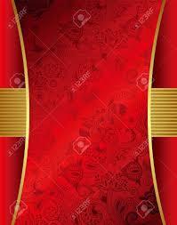 Abstract Menu Design Abstract Red Menu Design