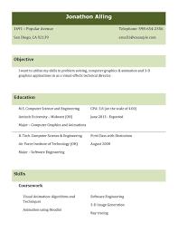 Best Resume Format Sample Best Resume Format For Freshers Resume For Study 60