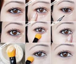 howto conceal undereye dark circles bags makeup