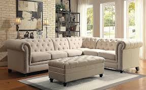 full size of sofas beige sectional sofa deep with chaise leather small tufted tufted sectional with chaise sofa