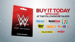 $25 off orders over $150. Check Out The Wwe Network Gift Card Wrestling Inc