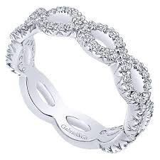 infinity band. gabriel \u0026 co lr4589 diamond infinity band o