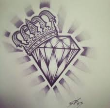 Hearts With Crowns And Diamonds Tattoo Designs Google Search Top
